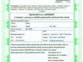 Certifikát Slunce Invest