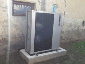 montáž tepelného čerpadla Gorenje Aerogor